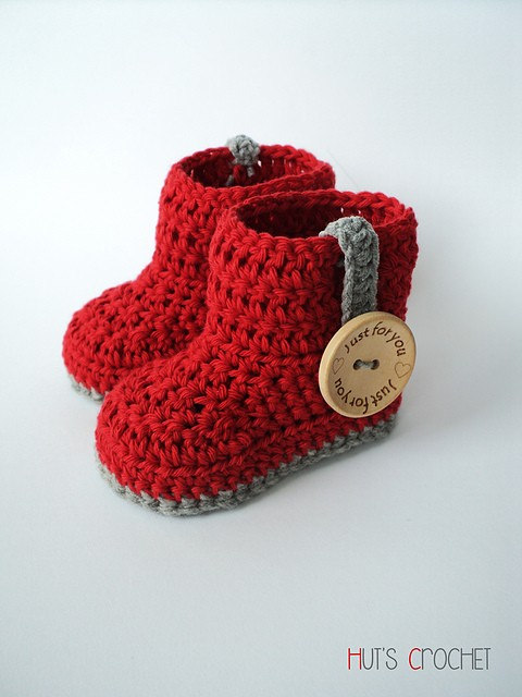72f0c08c4bb9 10 Quick and Easy Crochet Baby Booties  Free Crochet Patterns ...