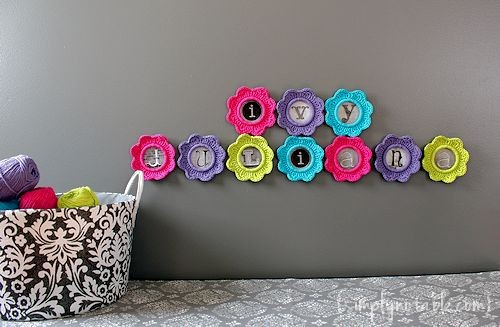 5 Awesome Ideas To Decorate With Crochet Flowers