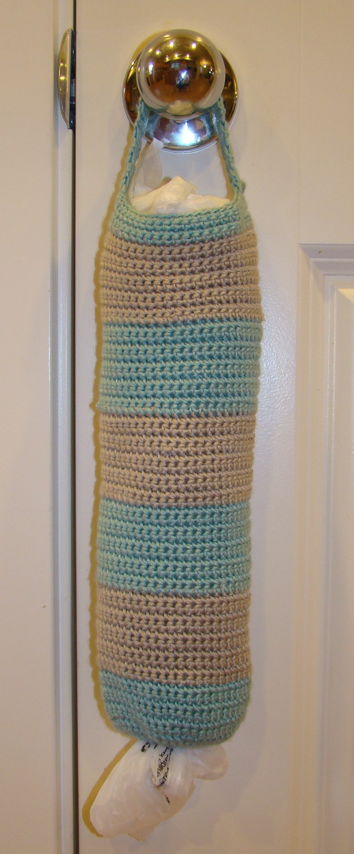 Plastic Bags Mess? Make Your Own Crochet Bag Holder - Knit And ...
