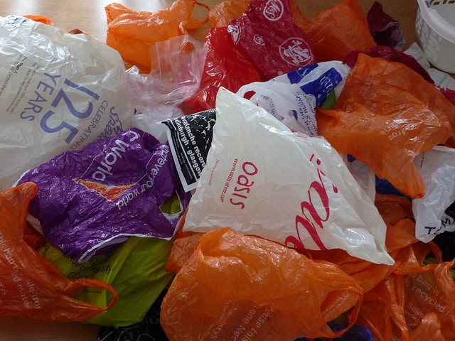 recycling plastic bags essay