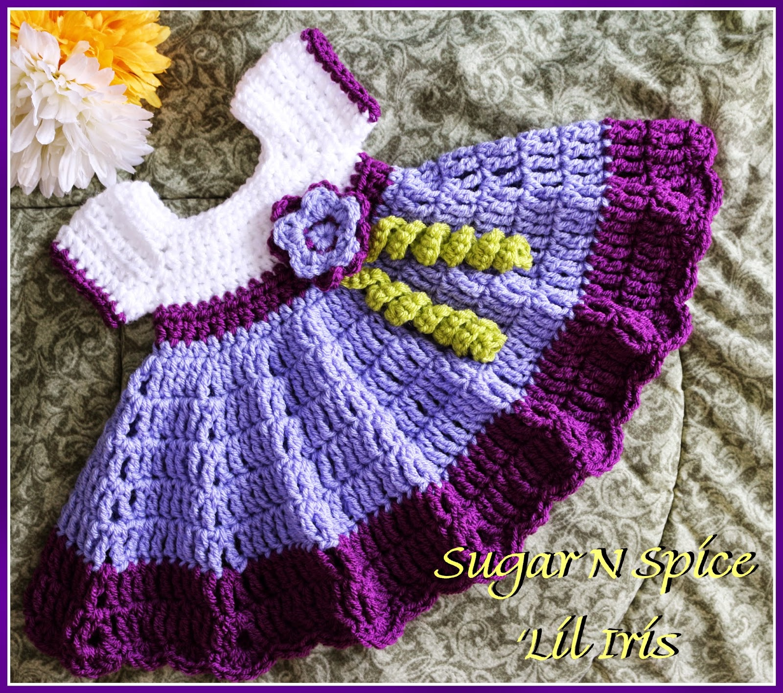 Free Patterns] 5 Gorgeous Crochet Dresses For Little Girls - Knit And ...
