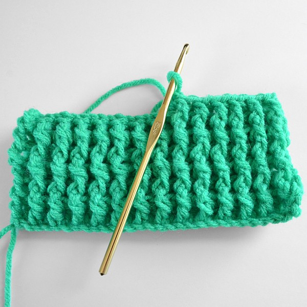 [Photo Tutorial] Learn A New Crochet Stitch: Single Rib Crochet Stitch