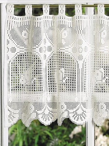 [Free Patterns] 8 Beautiful And Easy To Crochet Curtain ...