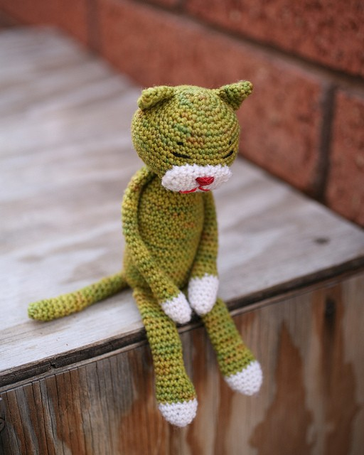 Amineko Crochet Cat
