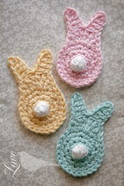 [Free Pattern] Quick And Easy Crochet Spring Bunny Pattern