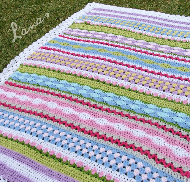 Make Your Own Knitting Pattern : [Free Pattern] Make Your Own Fantasy Blanket - Knit And ...
