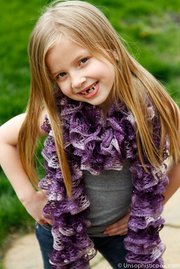 Frilly-Knit-Scarf
