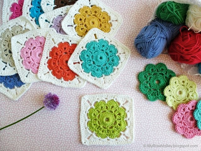 Crochet Websites : Free Pattern+Photo Tutorial] The Lovable Flower Pattern: Maybelle ...
