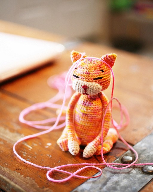 [Free Pattern] Amineko The Crochet Cat