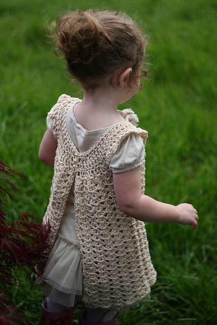 [Free Pattern] Incredibly Quick,Easy & Beautiful Angel Wings Crochet Baby Dress