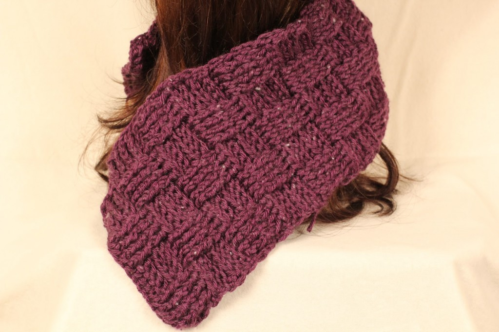 basketweave scarf