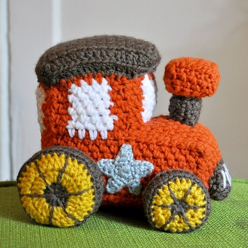 Free Patterns 5 Gorgeous Crochet Patterns Of Trains Planes And
