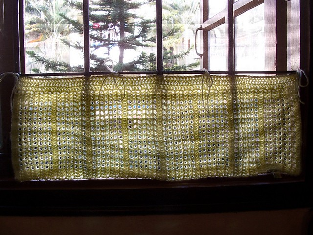 Free Patterns 8 Beautiful And Easy To Crochet Curtain Patterns For Kitchen Knit And Crochet