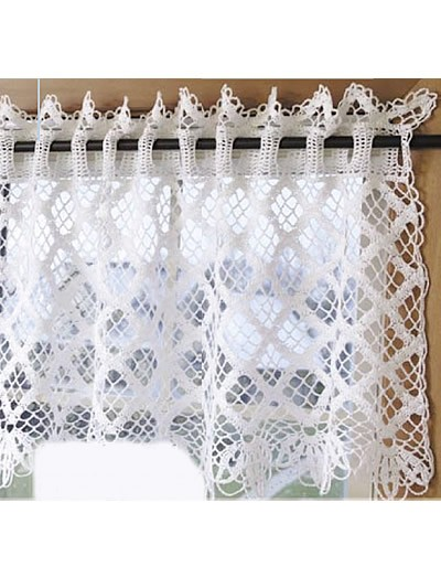 Free Crochet Edging Patterns For Curtains : [Free Patterns] 8 Beautiful And Easy To Crochet Curtain ...