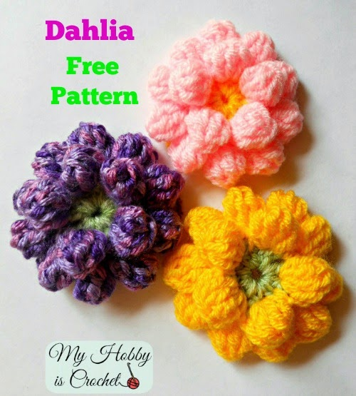Quick Crochet Flower Pattern : [Free Patterns] 12 Quick And Easy Crochet Flower Patterns ...