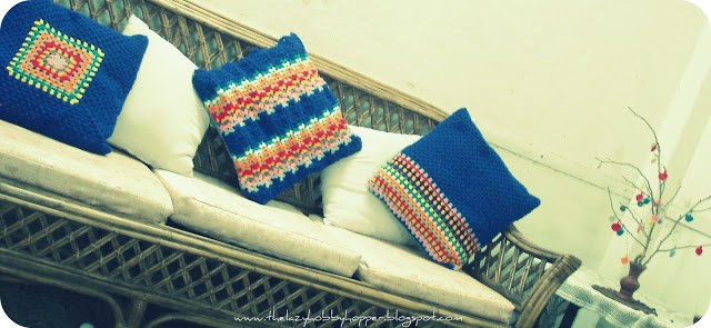 [Photo Tutorial] Crochet Granny Ripple Pattern For Really Wonderful Cushion Covers
