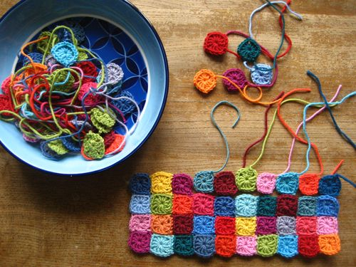 Free Pattern] Sweet Little Crochet Granny Squares - Knit And Crochet ...