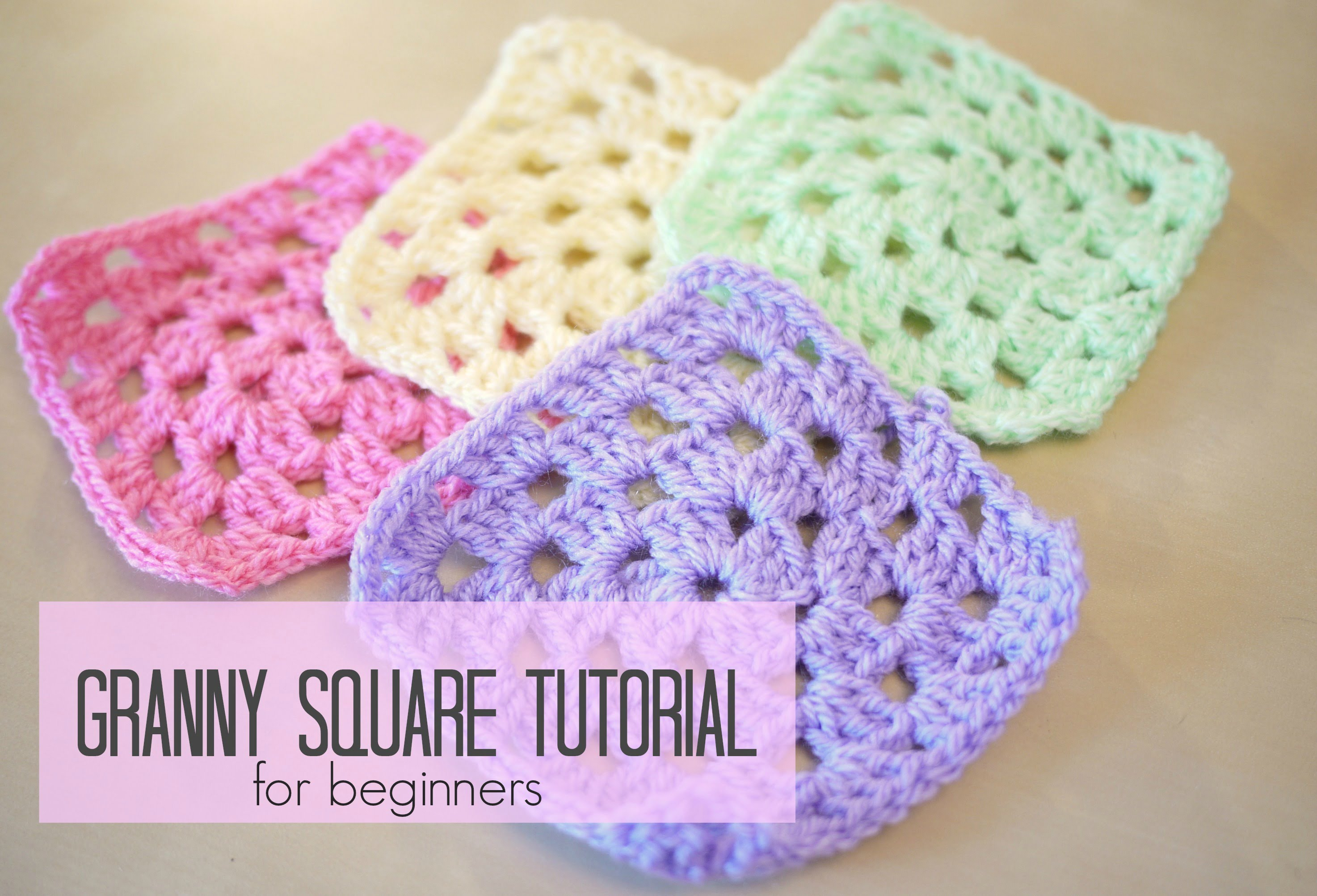 Crocheting Grandma : ... ] Granny Square For Beginners Step-By-Step - Knit And Crochet Daily