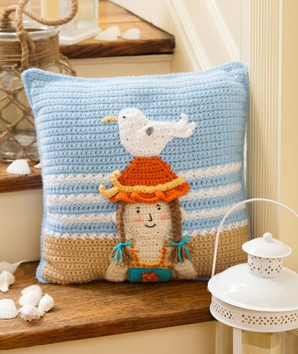 [Free Patterns] 9 Great Crochet Pillow Patterns for Kids