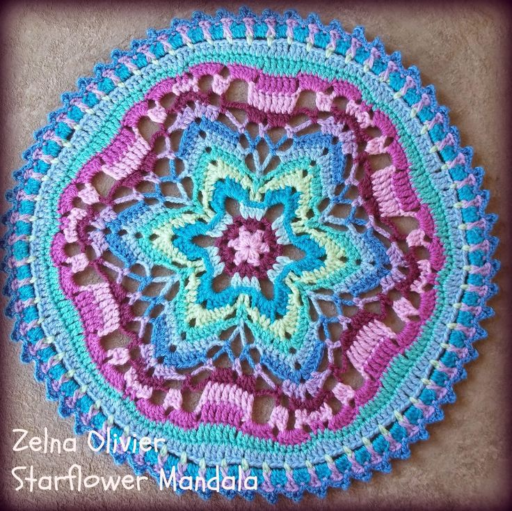 Pattern] Make Your Own Stunning Crochet Mandala - Knit And Crochet ...
