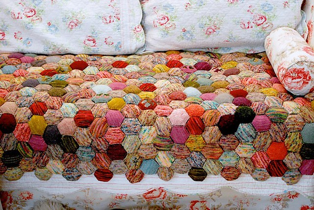 the beekeeper's quilt by tiny owl knits