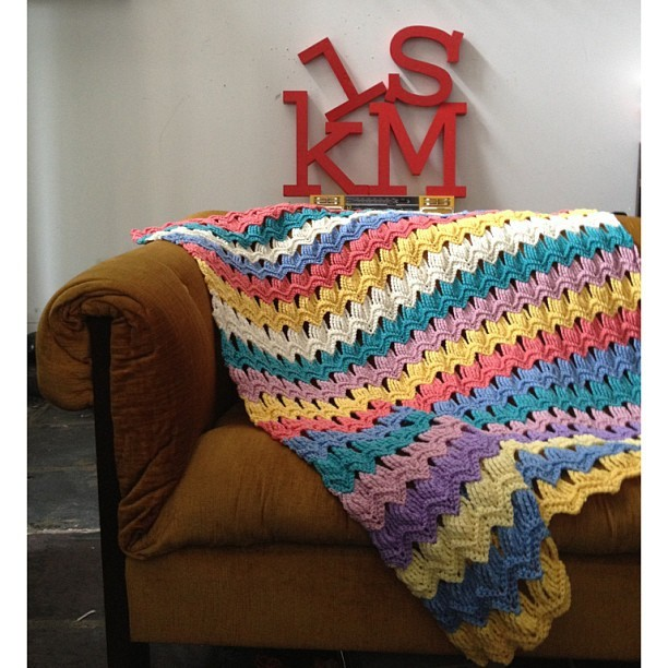 [Photo Tutorial] Free Crochet Afghan Patterns-Vintage Fan ...