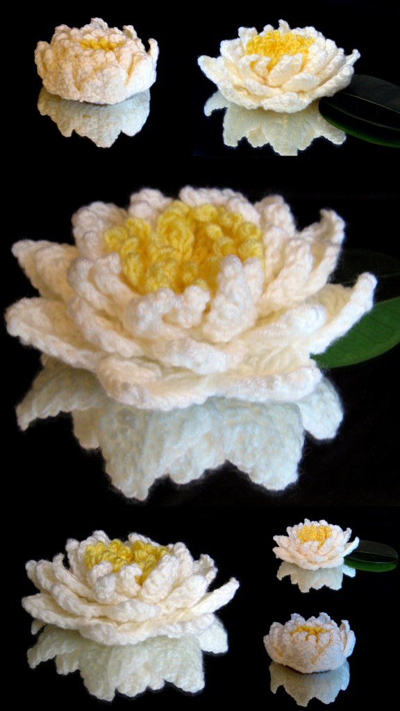 Free Pattern Most Beautiful Crochet Water Lily Youve Ever Seen