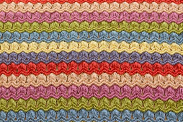 Easy Crochet Ripple Afghan Tutorial : [Photo Tutorial] Free Crochet Afghan Patterns-Vintage Fan ...