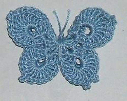 3-D Butterfly by April Moreland