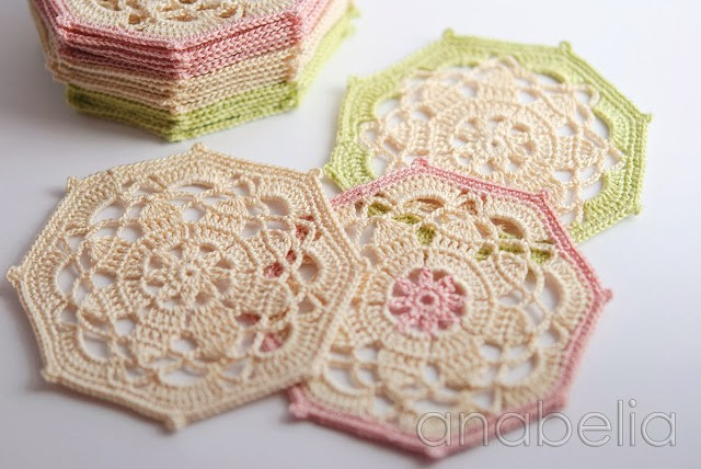 Free Pattern] Vintage Crochet Coasters Enchanting Crochet Coaster Pattern
