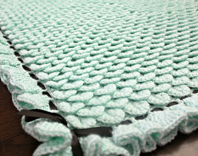 Crochet Baby Blanket : crochet baby blanket pattern Archives - Knit And Crochet Daily