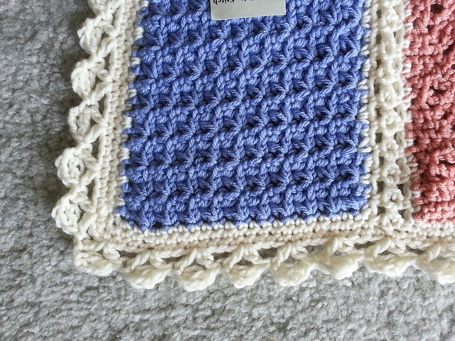 Free Crochet Pattern Afghan Edging : [Free Pattern] 20 Beautiful Crochet Edging Patterns