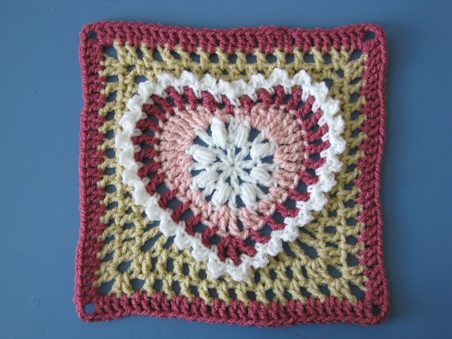 ... Seen: Grandmas Heart Square - Page 2 of 2 - Knit And Crochet Daily
