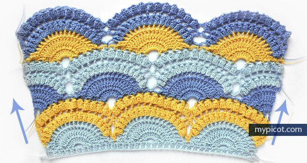 Photo Tutorial Learn A New Crochet Stitch Lace Shell Pattern With