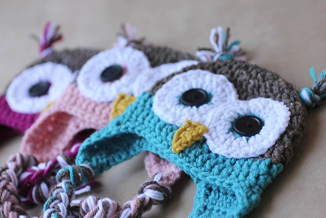 ... Simple And Adorable Owl Hat Crochet Patterns - Knit And Crochet Daily