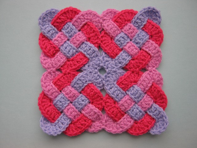 Free Pattern] This Celtic Knot Is So Twisted, It Is Almost ...