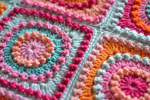 free pattern circle of friends pattern