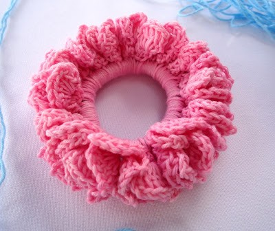 Free Pattern Video Tutorial How To Crochet A Scrunchie Hair Band