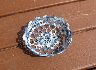 crocheted bowl 2