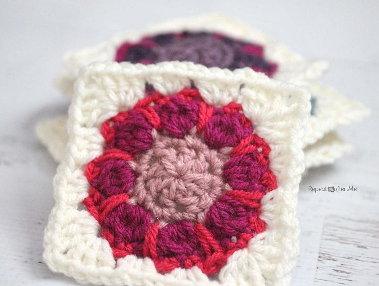 Crocheting Grandma : free crochet granny square afghan patterns Archives - Knit And Crochet ...