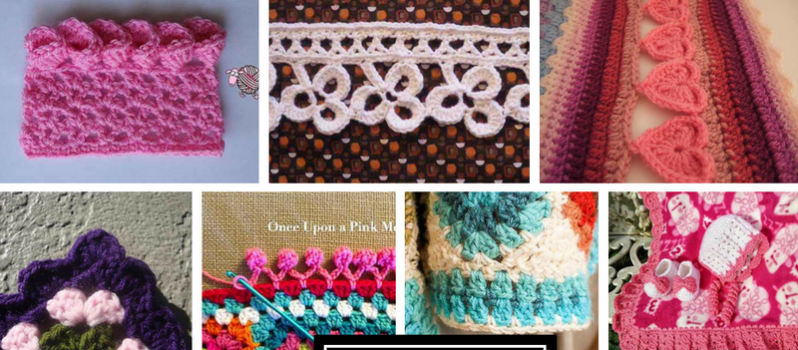 Free Pattern] 40 Beautiful Crochet Edging Patterns Magnificent Crochet Edging Patterns