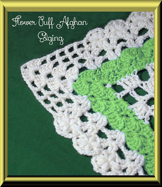 Free Crochet Flower Edging Pattern : [Free Pattern] 20 Beautiful Crochet Edging Patterns
