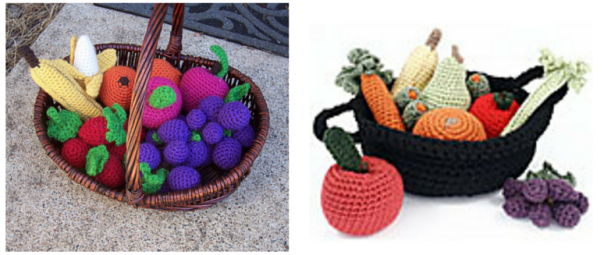 Crochet Fruit And Vegetable Patterns All The Best Ideas | 255x611