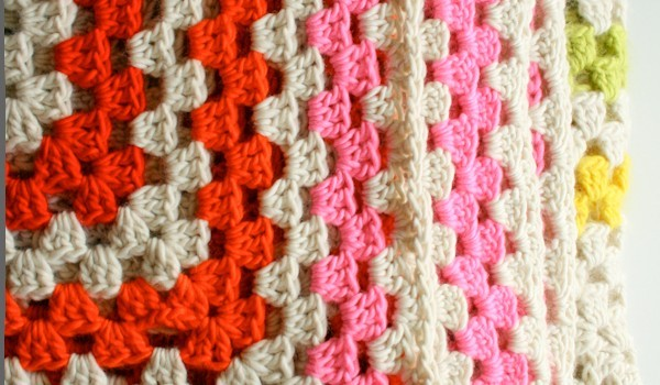 Free Pattern This Blanket Is Simply An Enormous Granny Square