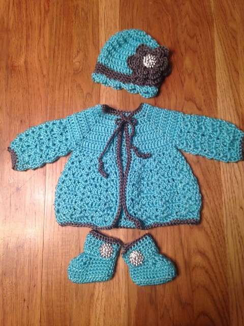 houseplantgirl's Baby Sweater