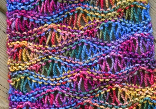 Free Pattern This Drop Stitch Scarf Looks Great In ...