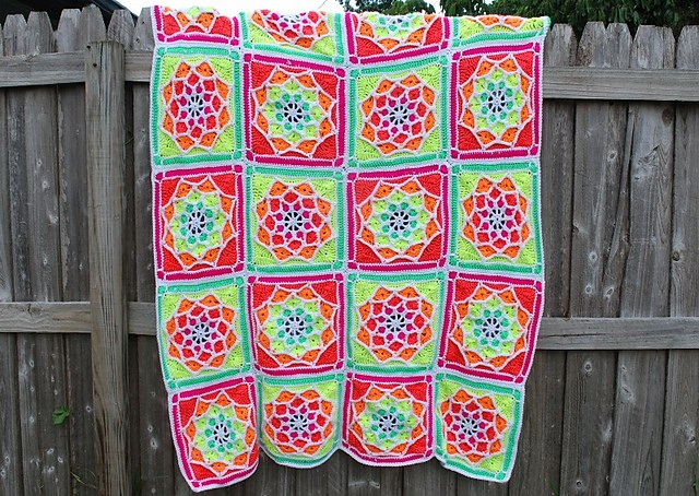 sun catcher afghan
