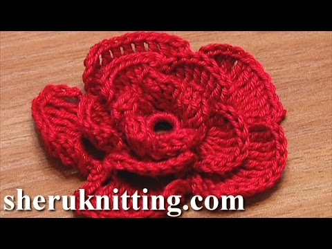 easy crochet flower patterns Archives - Knit And Crochet Daily