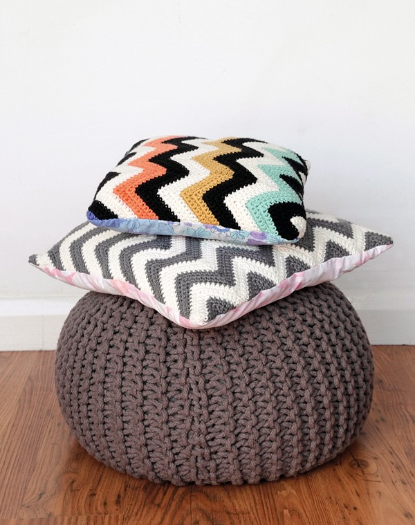 [Free Pattern] Bring The Look Of Your Favorite Interiors Shop Into Your Living Room With This Ripple Crochet Pattern