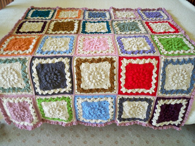 Crown Jewels afghan